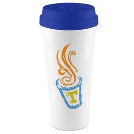 I'm Not A Paper Cup Tumbler with Your Slogan