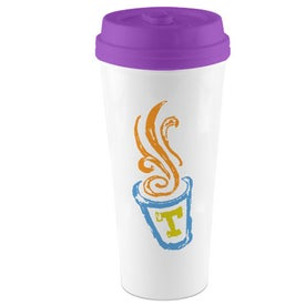 I'm Not A Paper Cup Tumbler Branded with Your Logo