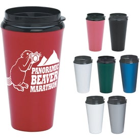 Infinity Tumbler with Plastic Sip Thru Lid (16 Oz.)
