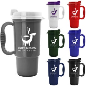 Logo Insulated Auto Mug