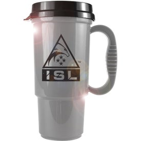 Insulated Auto Mug with Sip Lid with Your Logo