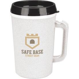 Monogrammed Dual-Wall Insulated Mug
