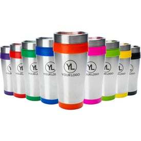 Insulated Stainless Steel Travel Mugs (16 Oz.)