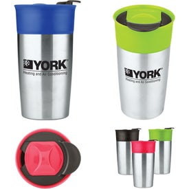 Two Tone Double Wall Insulated Tumbler (18 Oz.)