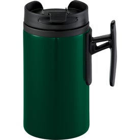 Monogrammed K Mini Travel Mug