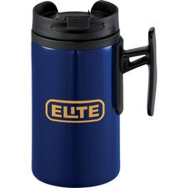 K Mini Travel Mug with Your Slogan