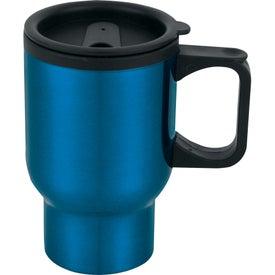Monogrammed Laguna Travel Mug