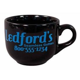 Latte Black Mug (16 Oz.)