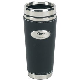 Promotional Leather Gripper Tumbler