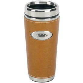 Leather Gripper Tumbler