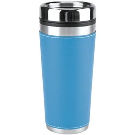 Leatherette Tumbler/Vacuum Bottle Set for Marketing
