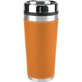 Leatherette Tumbler/Vacuum Bottle Set for your School