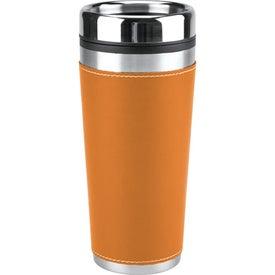 Leatherette Tumbler/Vacuum Bottle Set for your School