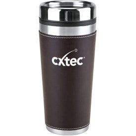 Leatherette Tumbler for Marketing