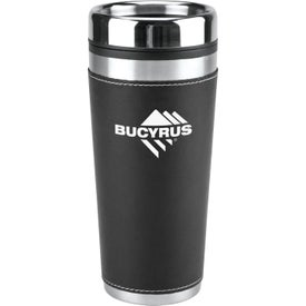 Advertising Leatherette Tumbler
