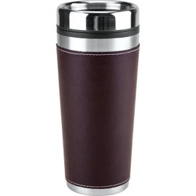 Leatherette Tumbler for Your Organization