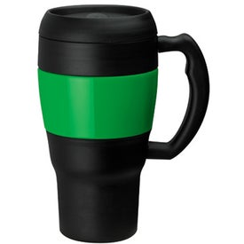 Branded Lucius Acrylic Mug with Steel