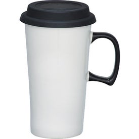Mambo Ceramic Travel Mug for Your Organization