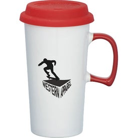 Mambo Ceramic Travel Mug for Advertising