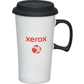Branded Mambo Ceramic Travel Mug