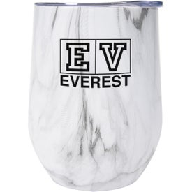 Marble Stemless Wine Cup (12 Oz.)