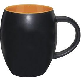 Customized Matte Barrel with Color Mug