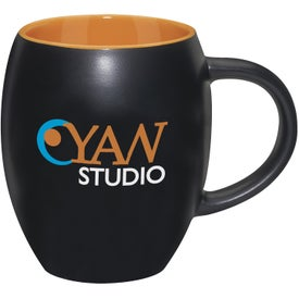 Logo Matte Barrel with Color Mug