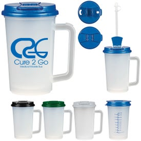 Medical Tumbler With Handle (22 Oz.)