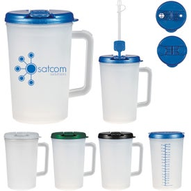 Medical Tumbler With Handle (34 Oz.)