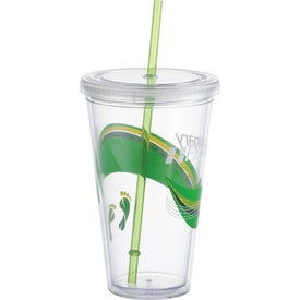 Mega Acrylic Tumbler Printed with Your Logo