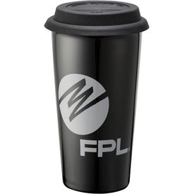 Mega Double Wall Ceramic Tumbler Printed with Your Logo