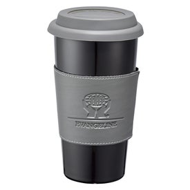 Mega Double Wall Ceramic Tumbler with Wrap Printed with Your Logo