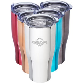 Metallix Grip Travel Mugs (27 Oz.)