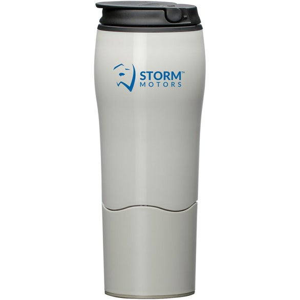 Cream Mighty Mug Go Tumbler