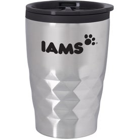 Mini Diamond Stainless Steel Tumbler (12 Oz.)