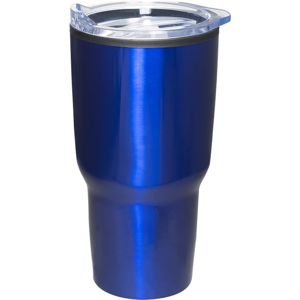 Blue Mondo Insulated Tumbler with Plastic Interior