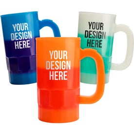 Mood Beer Steins (14 Oz., Screen Print, 2 Locations)