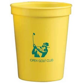 Nantucket Polypropylene Stadium Cup for Customization