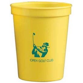 Nantucket Polypropylene Stadium Cup for Customization
