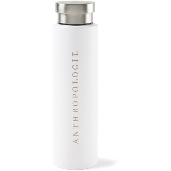 White Napa Double Wall Stainless Wine Canteen