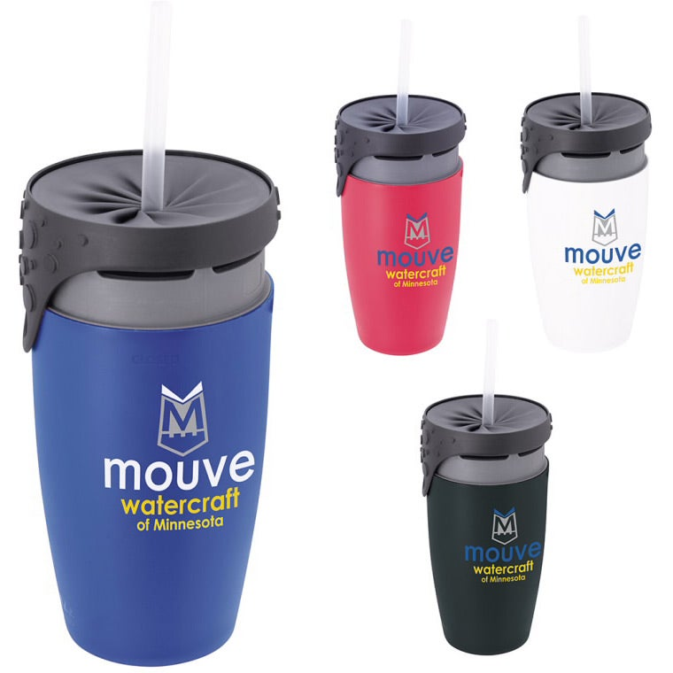 Promotional 12 Oz. Neolid Twizz Double Wall Tumblers with ...