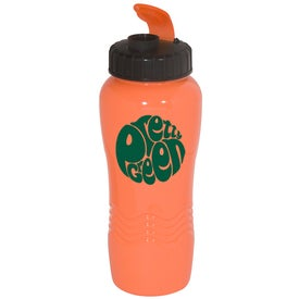 Neon PolyClean Sipper Imprinted with Your Logo