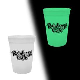 Customized Nite-Glow Stadium Cup