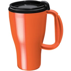 Dishwasher Safe Omega Mug for Advertising