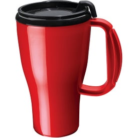 Monogrammed Dishwasher Safe Omega Mug