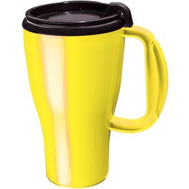 Dishwasher Safe Omega Mug with Your Logo