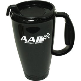 Logo Omega Mug with Slider Lid