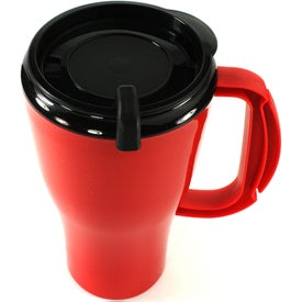 Branded Omega Mug with Slider Lid