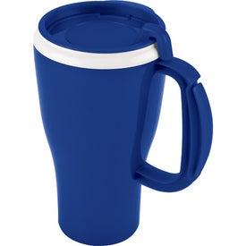 Customized Dishwasher Safe Omega Mug with Slider Lid
