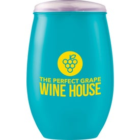 Omni Tritan Wine Cup with Lid (16 Oz.)